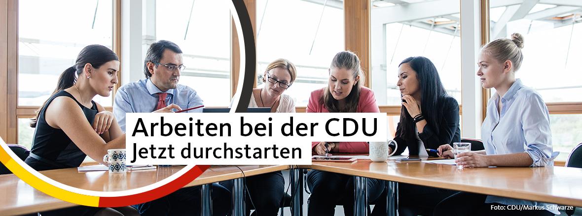 Arbeiten bei der CDU